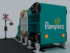 Pampers Train