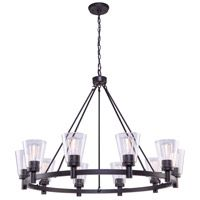 Artcraft AC10760OB Clarence 10 Light 42 inch Oil Rubbed Bronze Chandelier Ceiling Light photo thumbnail