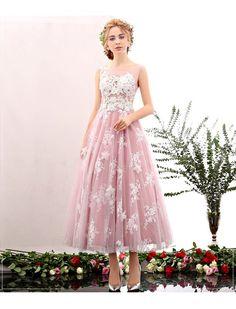 Vintage Style Floral Embroidered Dress