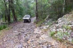 Access to Gheerulla camping area is four-wheel-drive only in dry conditions. Photo: Mark Lythall, Queensland Government