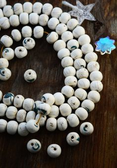 White Beauty: Natural Nepali Conch Shell Beads with Turquoise Inlay, 18x14mm, 5 loose beads, Shell Beads from Himalayans, Yoga, Spiritual by NatureBeads on Etsy https://www.etsy.com/listing/246183923/white-beauty-natural-nepali-conch-shell