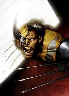 Wolverine Marvel Comics Art