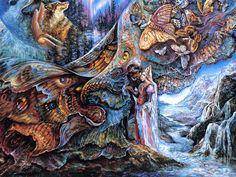 josephine wall paintings   ... http www josephinewall co uk josephine wall if you wish to use them
