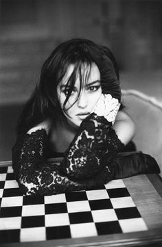 In chess with... Monica Bellucci