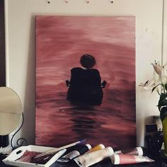 Harry styles first song. Harry styles by Harry styles painting . Harry styles first song. Harry styles by Harry styles painting . Arte One Direction, One Direction Drawings, Painting Inspiration, Art Inspo, Room Inspiration, Sign Of The Times Harry Styles, Desenhos One Direction, Desenho Harry Styles, Harry Styles Drawing