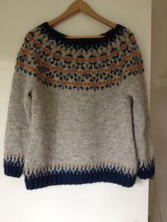 Asta Solilja by Kate Davies knitted in Lett-lopi