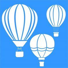 Stencil Balões 30,5 x 30,5 - OPA