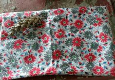 Check out this item in my Etsy shop https://www.etsy.com/listing/260400988/floral-feedsacks-yardage-bright-cotton