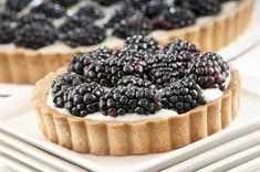 A blackberry tart so rich and luxurious, nobody will suspect it's a piece of cake to make!