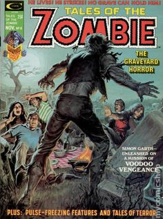 TALES OF THE ZOMBIE 8, BRONZE AGE MARVEL COMIC MAGAZINE
