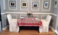 Ajit Floral Block Print Table Cloth.  Available in multiple sizes.  Placemats and napkins available separately.