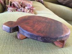 Turtle Cheese Tray by unJunkette on Etsy