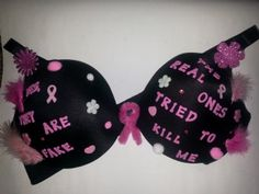 Women's Zionist group fights breast cancer with decorated bras Breast Cancer Bras, Decorated Bras, American Women, Decoration, Dekoration, Dekorasyon, Decorating, Decorations, Deck