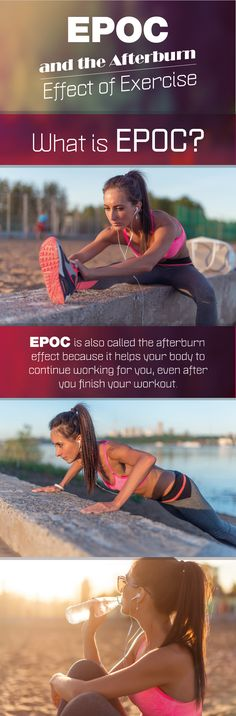 Stop right now and read this article. If you want to lose weight, get the skinny on EPOC, the afterburn effect of exercise and how to make it work for you.