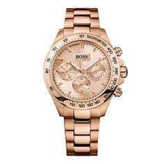 Hugo Boss Gold Watches for Ladies