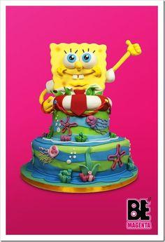 SpongeBob Cake made by BeMagenta.it