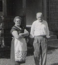 Lewis and Helen Smith, Lewis; son of James Herman Smith and Alice Mabel Eley Smith
