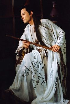 Ancient Chinese Tang Dynasty Poet Costume #Hanfu