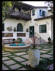 Courtyard Pavers 3