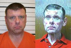 Meth:  just say NO.  This is a former police chief in Valley Brook, OK who was arrested on drug charges w/20 grams of meth on him.  These pictures were taken ONE YEAR apart.  Seriously...W.T.F.?!?