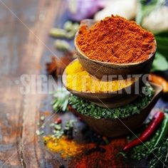Image Details - Spices and herbs over Wood. Food and cuisine ingredients. Spices And Herbs, Wood, Image, Kitchens, Woodwind Instrument, Timber Wood, Trees