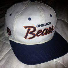 2a3e41b9e Sports Specialties Script Chicago Bears snapback Hat by Brimproper Chicago  Bears