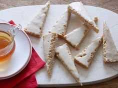 Eggnog Shortbread Cookies..