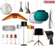 Lámparas de Foscarini - Blog Moises Showroom. Conoce un poco más esta empresa comprometida con el diseño. Foto: Delikatissen