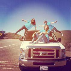 RG @nat_027: Let's go get lost anywhere in the USA #BCspringbreak #roadtrip #california #bigsur — with Caterina Aresu, Natàlia Amat Lefort and Elena Talpa. 2014