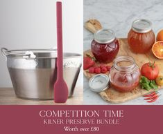 🍓COMPETITION TIME🍓 It's that time again & we're very excited about preserving season. Whether you're a newbie when it comes to jams making or a total. Le Creuset Uk, Kilner Jars, Competition Time, Fruit Preserves, How To Make Jam, Cold Drinks, Stuffed Mushrooms, Things To Come, Treats