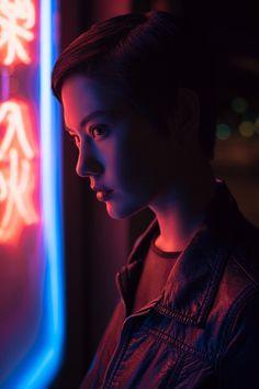 Model: Courtney McCullough Photo by Haoyuan Ren