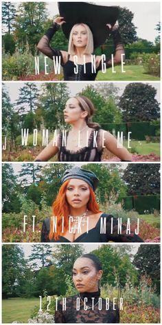 Woman Like Me Ft Nicki Minaj 12/10/18 Little Mix Style, Jesy Nelson, Perrie Edwards, Music Mix, Music Videos, Woman, Life, Outfits