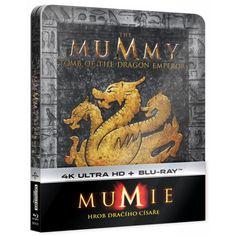Blu-ray Mumie: Hrob dračího císaře, Mummy: Tomb of the Dragon Emperor, UHD + BD, Steelbook, CZ dabing | Elpéčko - Predaj vinylových LP platní, hudobných CD a Blu-ray filmov Dragon, Cursed Child Book, Sci Fi Fantasy, Emperor, Blues, Harry Potter, Dragons