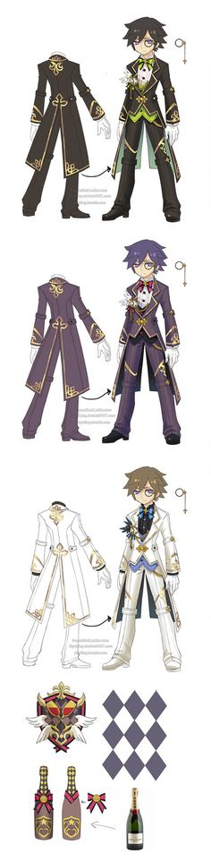 Costume & weapon designs ofa restaurant theme for Dragon Nest cleric in 2013.=) theotherclassesofthisseries ...
