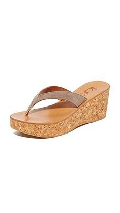 d494686b8c2e K. JACQUES K. JACQUES DIORITE THONG WEDGES.  k.jacques  shoes