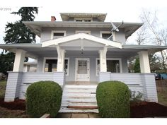 A foreclosure that needs some work but still has a lot of the original 1904 details. 123 SHIRLEY ST, Molalla, OR $213K.