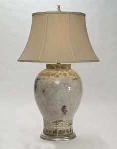Attratta Table Lamp Western  Lamps - Large scale pottery vase in beautiful glaze finish. From one of our superior quality collections and made in the USA. UL/C.S.A. Approved.