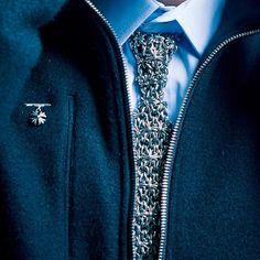 Chrome Hearts silver tie