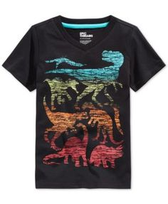 Epic Threads Little Boys' Multi Dino T-Shirt, Only at Macy's