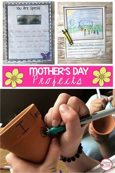 Muffins With Mom Activities - sofia Mom Poems, Mother Poems, Mothers Day Poems, First Mothers Day, Mothers Day Crafts, Mother's Day Activities, Spring Activities, Writing Activities, Mom Template