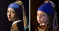 We Recreated Famous Paintings With Our Kids And Friends | Bored Panda