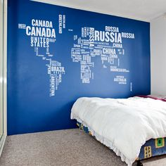 World map with country names modern urban and contemporary world countries wall decal gumiabroncs Gallery