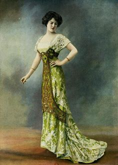 Les Modes (Paris) 1910 Robe du Soir par Laferriere