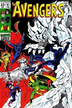 AVENGERS (Vol. – Grade – First Quinjet! Script by Roy Thomas. Pencils by John Buscema. Inks by George Klein. Cover by John Buscema and George Klein. Story continues from Doctor Strange The Avengers, Avengers Comics, Avengers Comic Books, Dc Comics, Avengers Universe, Avengers Series, Vintage Comic Books, Vintage Comics, Comic Books Art