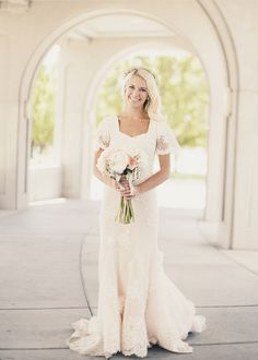 Bohemian Utah Wedding from Alixann Loosle