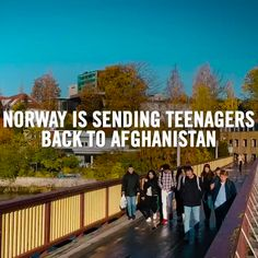 RT @amnesty: Today #Norway had a unique chance.  To protect people from horrors of war.  But its politicians have lost their compassion.   We want Taibeh Abbasi and other Afghans  living in fear of being deported to know:  You are not alone. We stand with you. https://t.co/8wi9FHV7CX