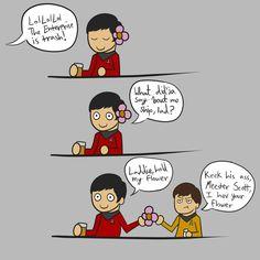 Chekov, Hold My Flower by Indigirl on DeviantArt