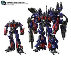 13 Primes Names | Optimus Prime Power Up – Unapproved version . Another concept art ...