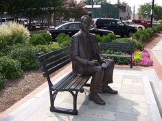 Park Bench Art Greenville SC
