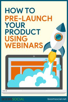 How to Pre-Launch Your Products Using Webinars Without Spending a Penny On Advertising Social Media Ad, Social Media Marketing, Digital Marketing, Advertising, Ads, First Step, Product Launch, Growth Hacking, Products